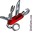 Swiss Army knife Vector Clip Art picture