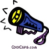 Vector Clipart picture  of a flashlight