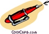 Vector Clip Art image  of a pen