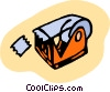 Vector Clipart illustration  of a tape