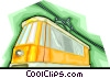 Vector Clipart illustration  of a gondola