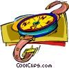 compass, navigation Vector Clip Art image
