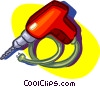 electric drill, tool Vector Clip Art graphic
