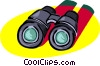 binoculars, scope Vector Clip Art picture