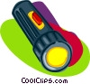 Vector Clipart image  of a flash light