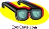 glasses, sunglasses Vector Clipart picture