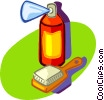 aerosol can Vector Clipart illustration