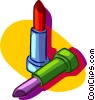 Vector Clip Art graphic  of a lipstick