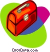 Vector Clipart illustration  of a toolbox