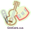 decorative symbol, musical instruments Vector Clip Art picture