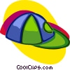 Vector Clipart graphic  of a baseball cap