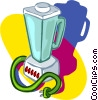 Vector Clipart illustration  of a blender