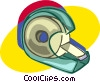 tape, office stationary Vector Clipart picture