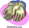 gloves, clothing Vector Clipart graphic