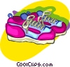running shoes, clothing Vector Clipart picture