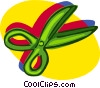 scissors, office stationery Vector Clip Art picture