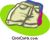 pants, shorts Vector Clip Art picture