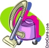 vacuum cleaner Vector Clip Art graphic