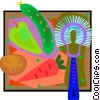 Vector Clip Art picture  of a vegetables