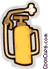 Vector Clipart graphic  of a chemical spray