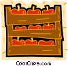 apples, harvest Vector Clipart picture