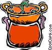 fondue pot Vector Clipart picture