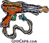 Vector Clipart illustration  of a soldering gun