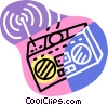 radio Vector Clip Art picture