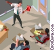 education, training, instructor, classroom Vector Clipart picture