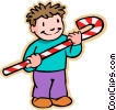 Vector Clipart picture  of a children at play