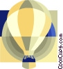 hot air balloon Vector Clip Art picture