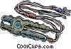 jumper cables Vector Clipart picture
