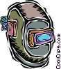welders mask Vector Clipart picture