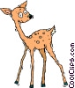doe, female dear Vector Clip Art image