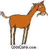 Vector Clipart illustration  of a horse