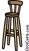 bar chair Vector Clip Art graphic