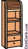 shelves, furniture Vector Clipart image
