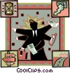 business options Vector Clip Art picture