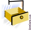 drawer Vector Clipart picture