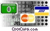 credit cards Vector Clip Art graphic