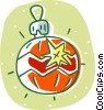 Christmas ornament Vector Clipart illustration