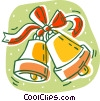 Vector Clip Art graphic  of a Christmas bells