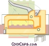 staple gun Vector Clipart illustration