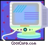 monitor Vector Clip Art picture