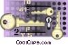 keys Vector Clipart image