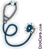 stethoscope Vector Clipart image