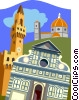 buildings, Europe Vector Clipart picture