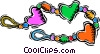 Vector Clipart graphic  of a baby's toy
