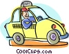 Vector Clip Art picture  of a car