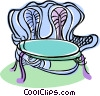chair, furniture Vector Clipart illustration